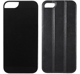 Great Price Logitech Mesh TidyTilt Smart Cover, Earbud Cord Wrap, Stand and Mount for iPhone 5 - Black Leather / Black case