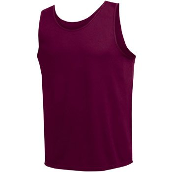 High Five Youth Pacer Maroon Running Singlet - Youth-M