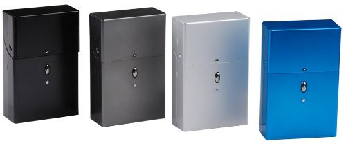 Light Weight :: Heavy Duty Aluminum Cigarette Case (Kings Size) (Assorted Colors) #CH43