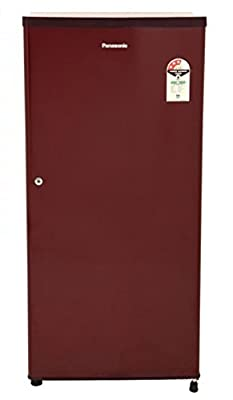 Panasonic NR-A195RMP Direct-cool Single-door Refrigerator (190 Ltrs, 3 Star Rating, Maroon)