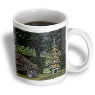 Danita Delimont - Japanese Gardens - Lantern, Portland Japanese Garden, Oregon, Usa - Us38 Wsu0216 - William Sutton - 11Oz Mug (Mug_146414_1)