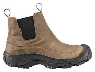 Keen Men's Anchorage Waterproof Winter Boot,Dark Earth/Shitake,11.5 M US