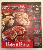 Wilton 4pc Toaster Oven Set Muffin Cookie Sheet Crisper