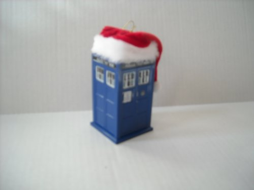 Doctor Who – Dr. Who Tardis with Santa Hat Christmas Ornament