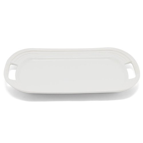 Le Creuset Stoneware Rectangular Serving Platter (White)