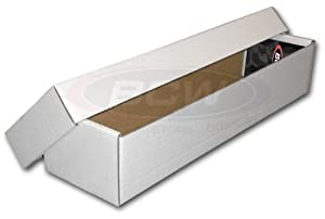 800 Count Card Storage Box with Separate Lid 10 pack