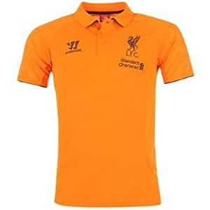 Warrior Liverpool Fc Polo Shirt Mens Orange Medium