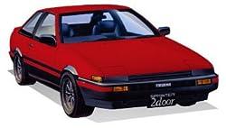 フジミ模型 1/24 インチアップシリーズ No.183 トヨタ ハチロクトレノ 2ドアGT/APEX前期型 プラモデル