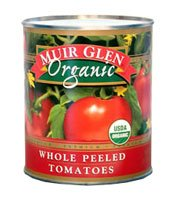 Muir Glen Organic Whole Peeled Tomatoes -- 28
