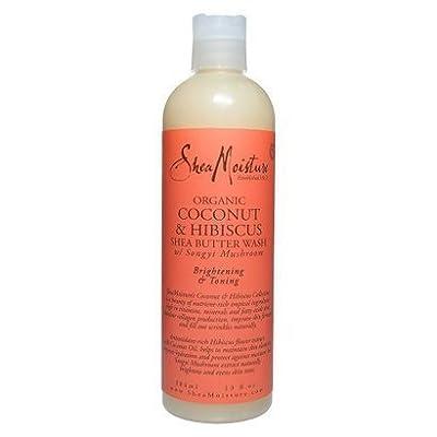 Shea Moisture Coconut Hibiscus Body Wash-13 oz