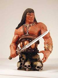 Conan Mini Bust 1: Conan the Slayer - Buy Conan Mini Bust 1: Conan the Slayer - Purchase Conan Mini Bust 1: Conan the Slayer (Dark Horse, Toys & Games,Categories,Action Figures,Statues Maquettes & Busts)