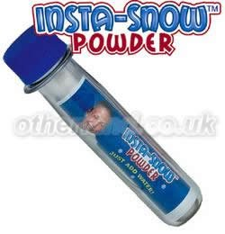 Insta-Snow Test Tube