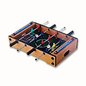 Mini Kicker Tischfussballspiel ca. 35 x 21 cm Tischkicker Tisch Fuballspiel Kicker Tisch