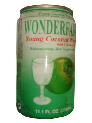 Wonderfarm Coconut Water Can -330ml (pack of 24)