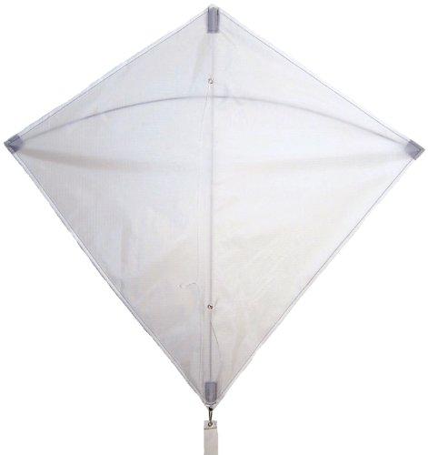 In the Breeze White Diamond Kite, 30-Inch