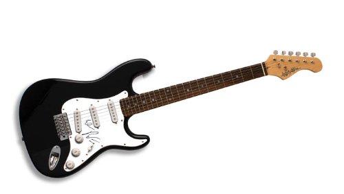 El Debarge Autographed Signed Guitar Uacc Rd