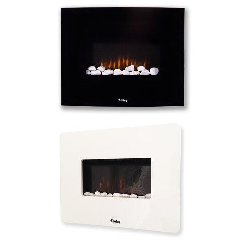 kenley elektrokamin wandkamin wandheizung mit feuereffekt heizk rper mit thermostat. Black Bedroom Furniture Sets. Home Design Ideas