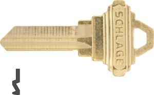 Schlage 35 101c classic key blank box of 50 door lock for Classic house keys samplephonics