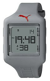 Puma Slide Chrono Digital Grey Dial Unisex watch #PU910791008