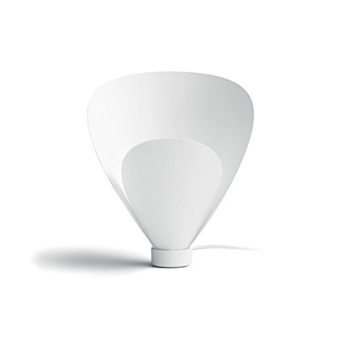 Philips Pine Smart Volume Lampada da Tavolo, Bianco