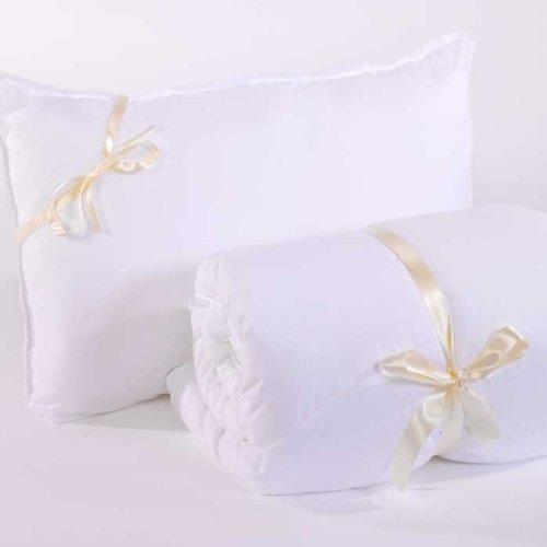 Miss Daisys QUALITY 4 LESS Bundle - Double Duvet Quilt 10.5 + 2 x Polycotton Non-Allergenic Pillows - Ultra Soft - Bounce Back!