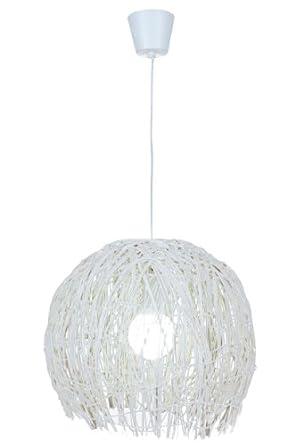 lampadari in rattan : Naeve Leuchten - Lampadario a sospensione