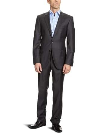 Tommy Hilfiger Tailored Herren Anzüge (Zweiteiler) Regular Fit 1200842 / Kevin Brooks, Gr. 48, Grau (413)