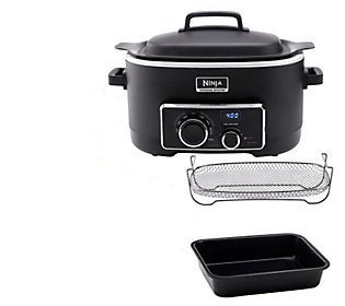 Ninja - 3-In-1 Cooking System - Black