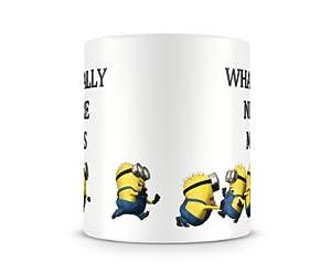 Bedruckte Tasse, Aufdruck: What I Really Need Are Minions