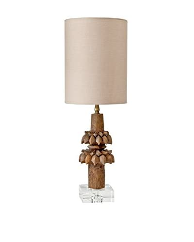 Home Philosophy Rustic Artifact Lamp, Brown