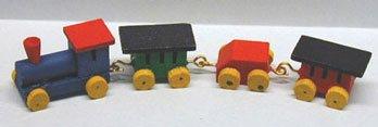 Dollhouse S/4 WOODEN TRAIN