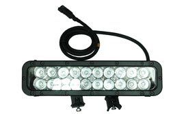 Infrared Led Light Bar - 20 Ir Leds - 60 Watts 750/850/940Nm - Extreme Environment - 800' X 80' Spot