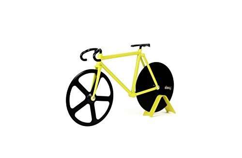 Doiy DYFIXIEBB -Fizza Cutther, black and yellow color
