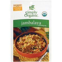 Simply Organic Seasoning Mix, Jambalaya, 0.74-Ounce (Pack of 12) ( Value Bulk Multi-pack)
