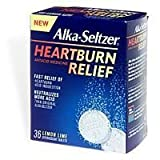 Bayer Consumer Products Alka-Seltzer Heartburn Relief Effervescent Tablets 36
