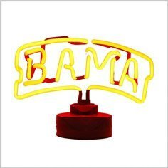 Alabama Neon Lamp/Light Sign