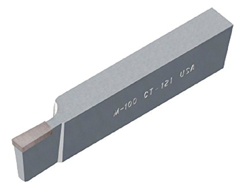 American Carbide Tool Carbide-Tipped Tool Bit for Cutoff CTL 111 Size C6 Grade Left Hand 0.5 Square Shank
