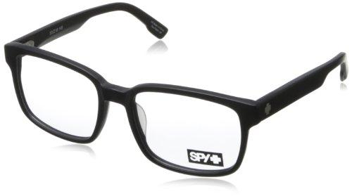 Spy Tyson Rectangular Eyeglasses,Matte Black,53 Mm front-914169