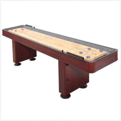 Best Price Carmelli Dark Cherry 9 Foot Shuffleboard Table