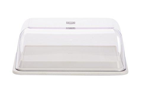 Zak Designs BPA-Free 6-in-1 All Purpose Serve and Storage Dish, White (Cheese Tupperware compare prices)