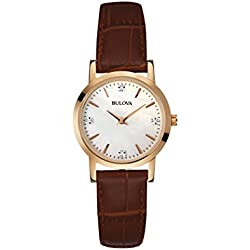 Bulova Diamonds 97S105 - Orologio da Polso Donna