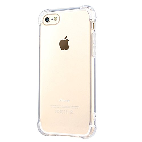 Iessvi color clear Candy TPU Soft Silicone Thin Cover-Protective scratch-resistant Case for Iphone5/5s/SE (6) (Iphone5 Case Crystal compare prices)