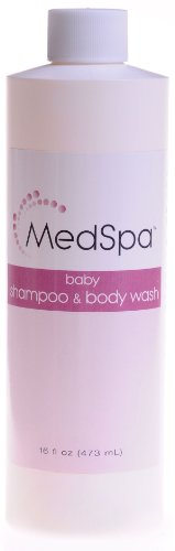 Medspa Baby Or Adult Shampoo - 16 Ounce - Pack Of 12 front-57237
