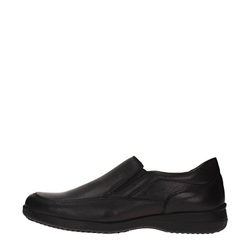 Braking 5821 Slip On Uomo Pelle NERO NERO 43