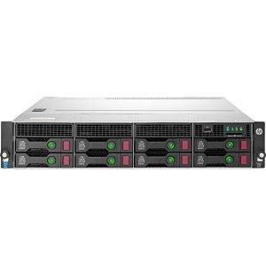 HP ProLiant DL80 G9 2U Rack Server - Intel Xeon E5-2609 v3 1.90 GHz - 2 Processor Support - 8 GB Standard - Serial ATA RAID Supported, 12Gb/s SAS Controller - Gigabit Ethernet - RAID Level: 0, 1, 5 - 550 W - 788147-S01