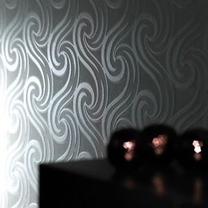 Superfresco Mistral Wallpaper - White by New A-Brend
