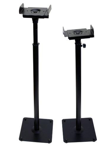 Videosecu Floor Speaker Stand One Pair 1B5