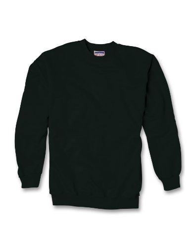 Ultimate Cotton Fleece Crew 10 Oz (Pack Of 1) Size:X-Large Color:Black front-123641