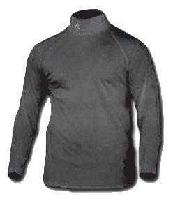 Buy Maxit Designs Qb 1 Mock Turtleneck Black Large by Maxit