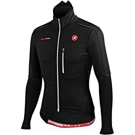 Castelli 2014/15 Men's Trasparente Due Wind FZ Long Sleeve Cycling Jersey - A12506